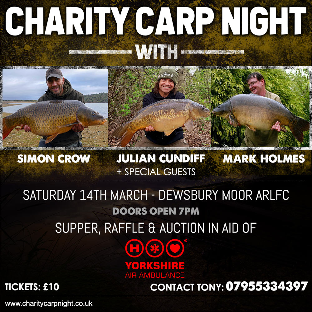 Carp Poster Charity Night